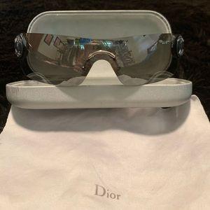 Dior Dark Chrome Pewter Sunglasses Like New